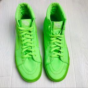 Vans Hightops - Neon Green